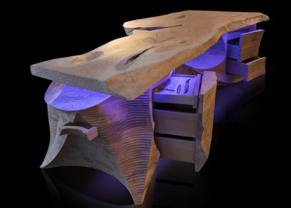 Hig-end Desk sculpture | Jan-Carel Koster