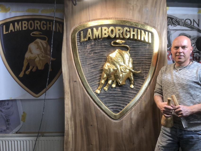 Lamborghini | Beeldhouwer Jan-Carel Koster