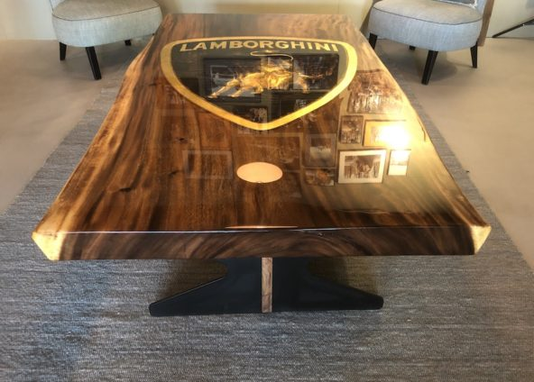 The Golden Lamborghini Table | Jan-Carel Koster