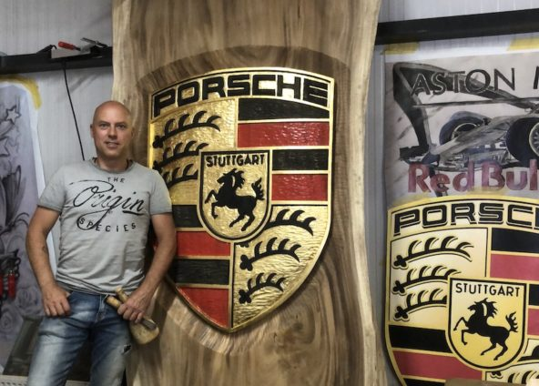 Porsche Table | Beeldhouwer Jan-Carel Koster