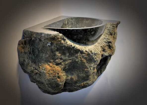 Natural Stone Sink | Sculptor Jan-Carel Koster